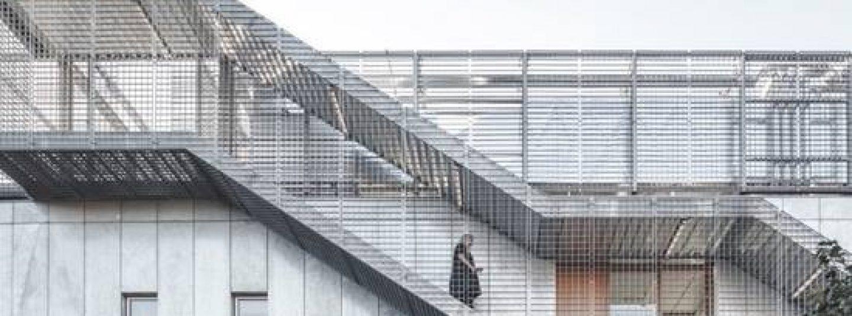 Pittsburgh exterior stairway guardrail